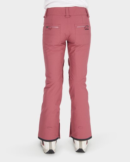 5 TERRY SNOW PANT Red L6PF02S Billabong