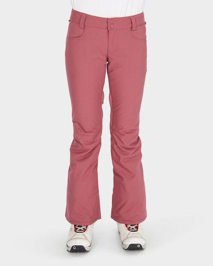 3 TERRY SNOW PANT Red L6PF02S Billabong
