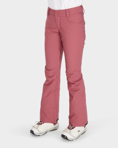 4 TERRY SNOW PANT Red L6PF02S Billabong