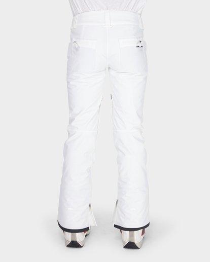 4 TERRY SNOW PANT White L6PF02S Billabong
