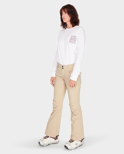 1 TERRY SNOW PANT Beige L6PF02S Billabong