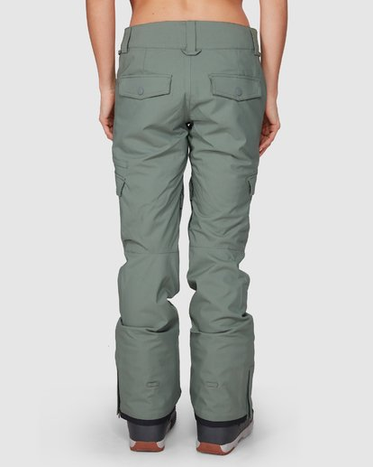 3 NELA SNOW PANT Green L6PF03S Billabong