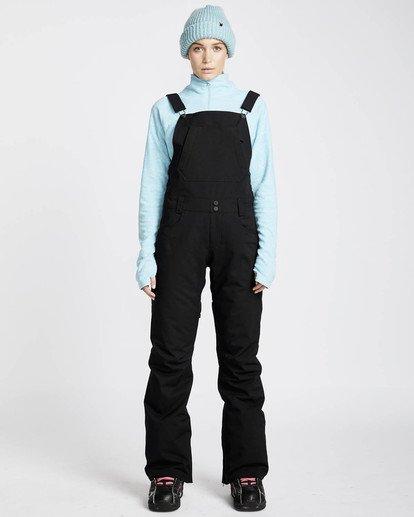 0 Riva Bib 10K Stretch Snow Pants Noir L6PF05BIF8 Billabong