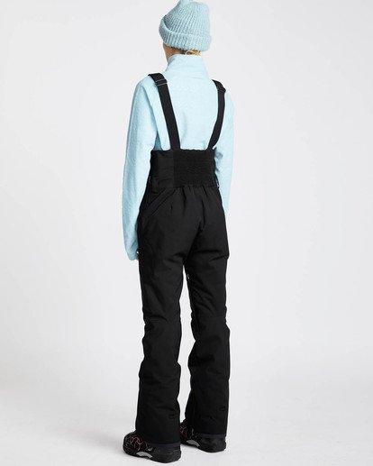2 Riva Bib 10K Stretch Snow Pants Noir L6PF05BIF8 Billabong