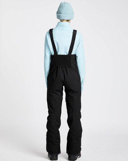 3 Riva Bib 10K Stretch Snow Pants Noir L6PF05BIF8 Billabong