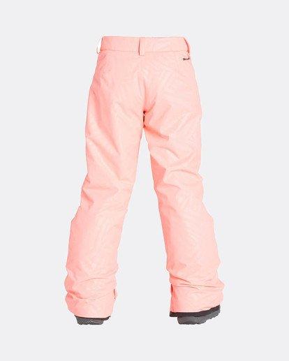 2 Teen Girls Alue Snow Pants Rose L6PG01BIF8 Billabong