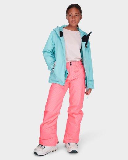 5 TEEN ALUE SNOW PANT Pink L6PG01S Billabong