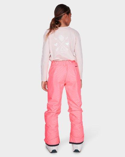 2 TEEN ALUE SNOW PANT Pink L6PG01S Billabong