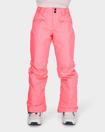 3 TEEN ALUE SNOW PANT Pink L6PG01S Billabong
