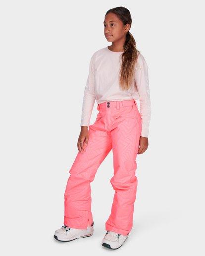 1 TEEN ALUE SNOW PANT Pink L6PG01S Billabong