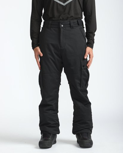 3 Transport 10K Snow Pants Schwarz L6PM01BIF8 Billabong