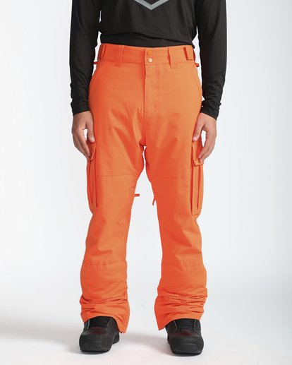 3 Transport 10K Snow Pants Naranja L6PM01BIF8 Billabong