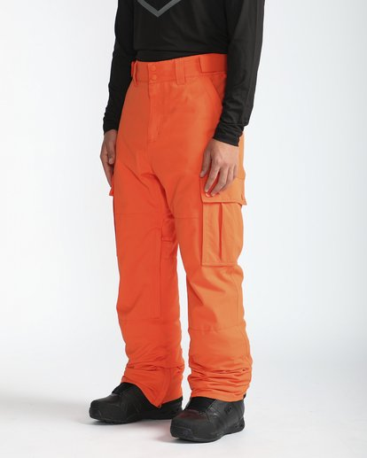 4 Transport 10K Snow Pants Naranja L6PM01BIF8 Billabong