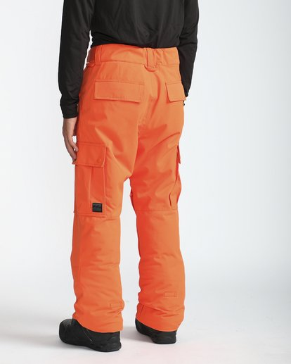 5 Transport 10K Snow Pants Naranja L6PM01BIF8 Billabong