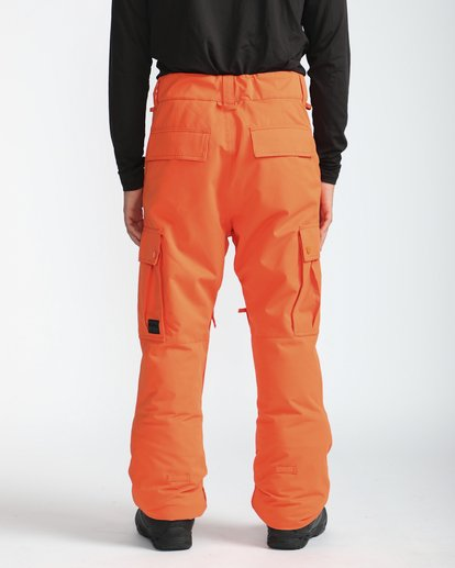 6 Transport 10K Snow Pants Naranja L6PM01BIF8 Billabong