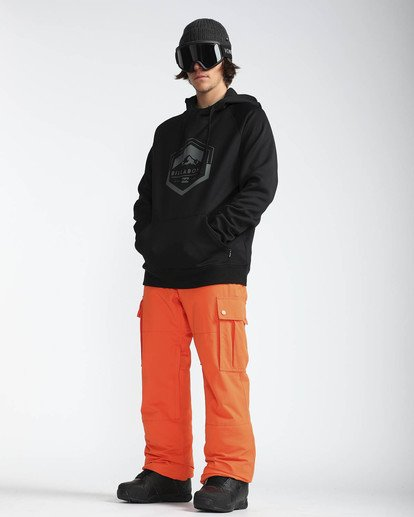 7 Transport 10K Snow Pants Naranja L6PM01BIF8 Billabong