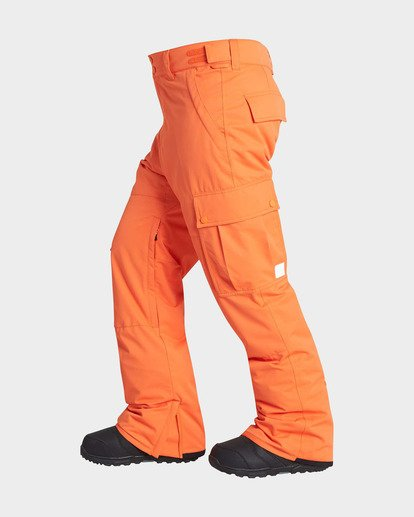 1 TRANSPORT SNOW PANT Orange L6PM01S Billabong