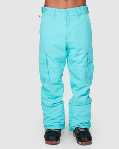 3 TRANSPORT SNOW PANT Blue L6PM01S Billabong