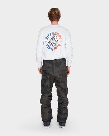 2 TRANSPORT SNOW PANT Camo L6PM01S Billabong