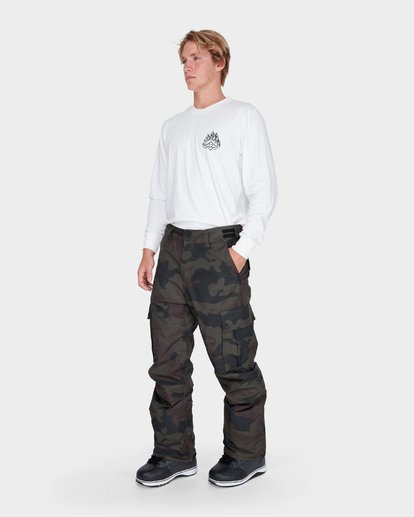 1 TRANSPORT SNOW PANT Camo L6PM01S Billabong