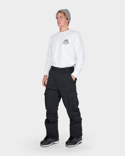1 TRANSPORT SNOW PANT Black L6PM01S Billabong