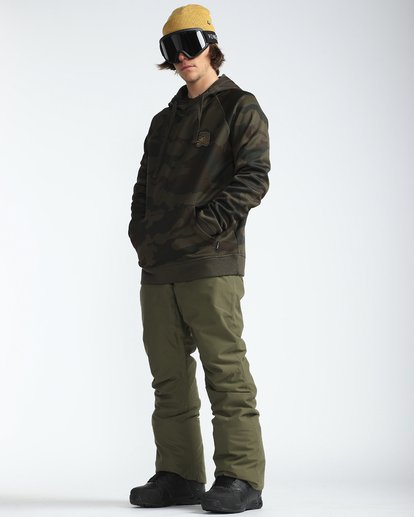 8 Outsider 10K Snow Pants Braun L6PM02BIF8 Billabong