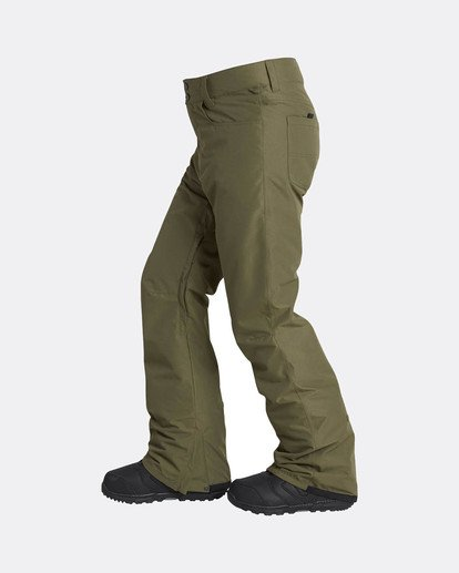 6 Outsider 10K Snow Pants Braun L6PM02BIF8 Billabong