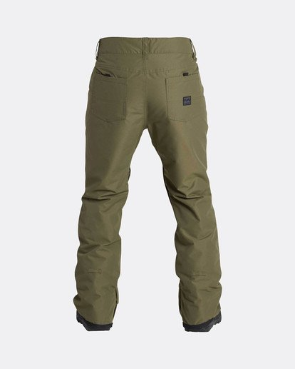 7 Outsider 10K Snow Pants Braun L6PM02BIF8 Billabong