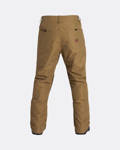 2 Outsider 10K Snow Pants Yellow L6PM02BIF8 Billabong