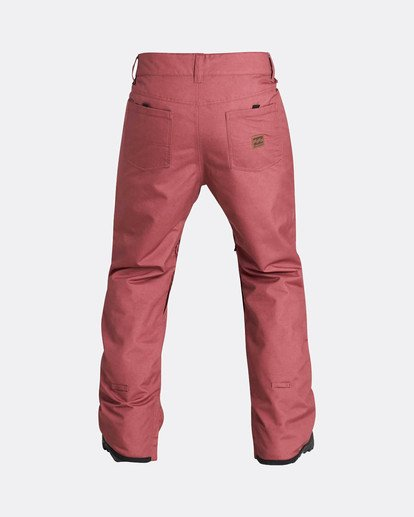 2 Outsider 10K Snow Pants Marron L6PM02BIF8 Billabong