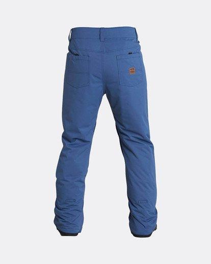 7 Outsider 10K Snow Pants Blau L6PM02BIF8 Billabong