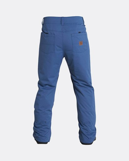 2 Outsider 10K Snow Pants Azul L6PM02BIF8 Billabong