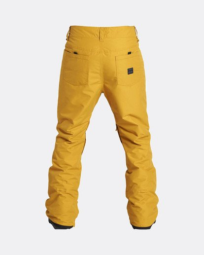 7 Outsider 10K Snow Pants Beige L6PM02BIF8 Billabong