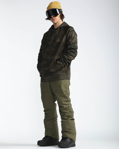 4 Outsider 10K Snow Pants Braun L6PM02BIF8 Billabong