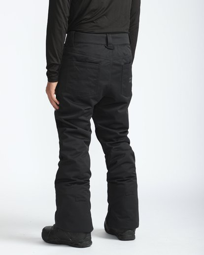 2 Outsider 10K Snow Pants Schwarz L6PM02BIF8 Billabong