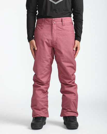 3 Outsider 10K Snow Pants Marron L6PM02BIF8 Billabong