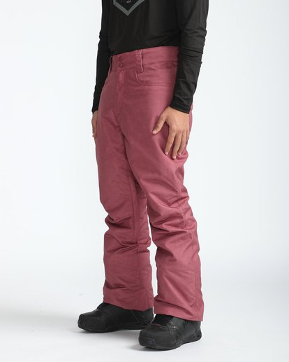 4 Outsider 10K Snow Pants Marron L6PM02BIF8 Billabong