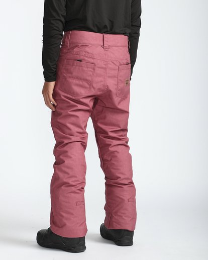 5 Outsider 10K Snow Pants Marron L6PM02BIF8 Billabong