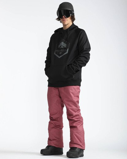 7 Outsider 10K Snow Pants Marron L6PM02BIF8 Billabong