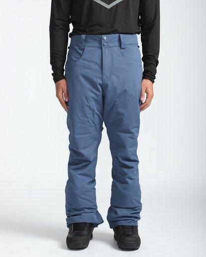 3 Outsider 10K Snow Pants Azul L6PM02BIF8 Billabong