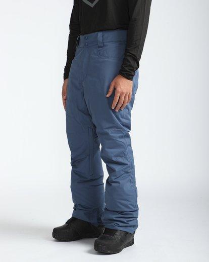 4 Outsider 10K Snow Pants Azul L6PM02BIF8 Billabong