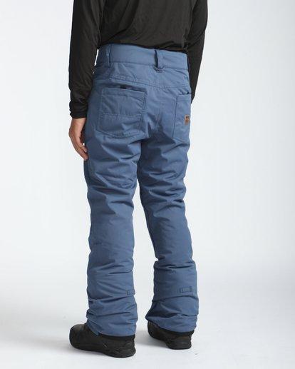 2 Outsider 10K Snow Pants Blau L6PM02BIF8 Billabong