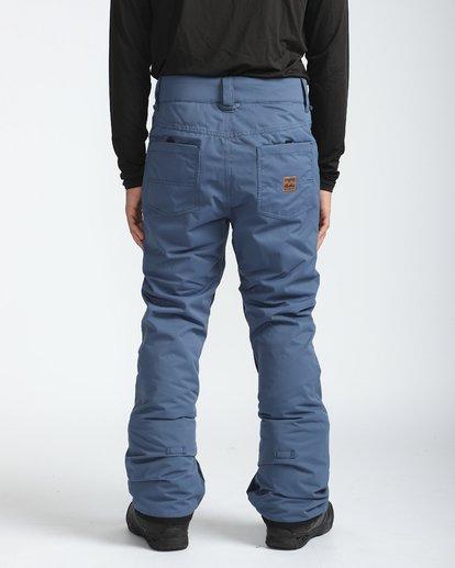 3 Outsider 10K Snow Pants Blau L6PM02BIF8 Billabong