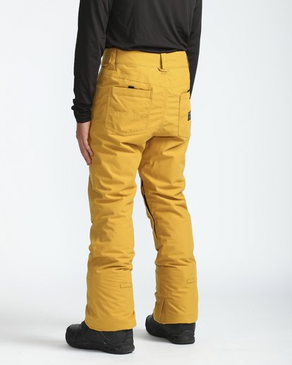 2 Outsider 10K Snow Pants Beige L6PM02BIF8 Billabong