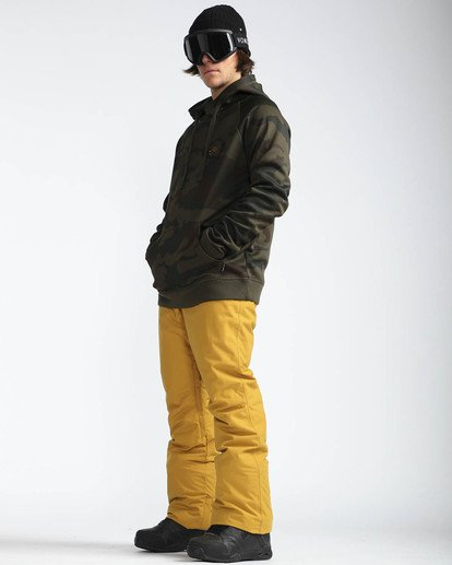 4 Outsider 10K Snow Pants Beige L6PM02BIF8 Billabong
