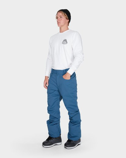 1 OUTSIDER SNOW PANT Blue L6PM02S Billabong