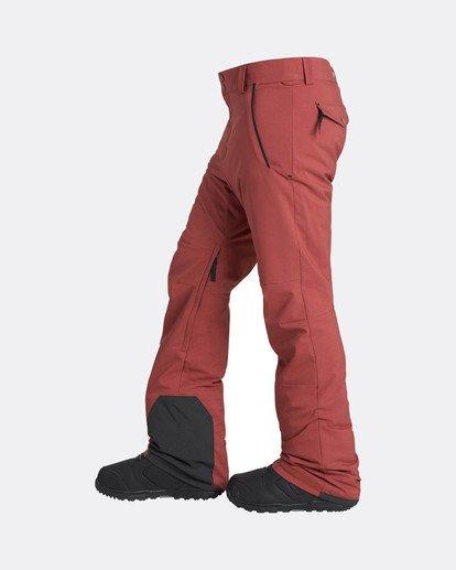 1 Compass 15K Stretch Snow Pants Braun L6PM04BIF8 Billabong