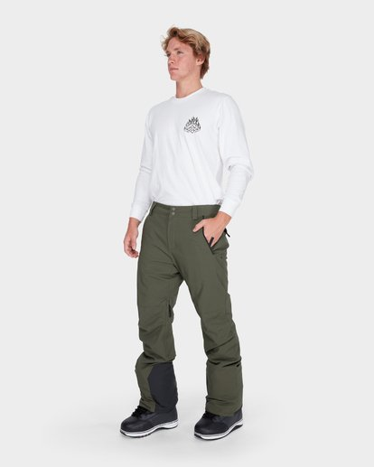 1 COMPASS SNOW PANT Brown L6PM04S Billabong
