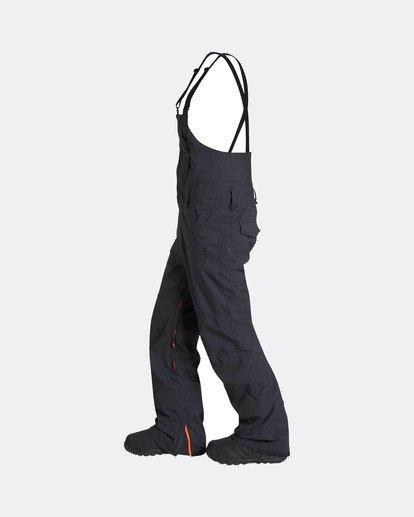 1 North West Bib 45K Stretch Snow Pants Schwarz L6PM05BIF8 Billabong