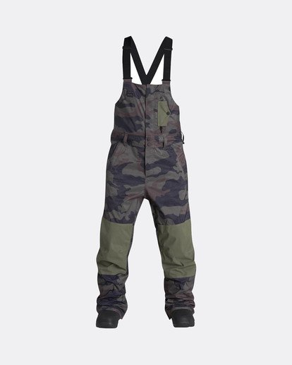 0 North West Bib 45K Stretch Snow Pants Gemustert L6PM05BIF8 Billabong